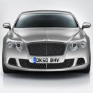 "Bentley Continental GT 2012 Car Poster Print on 10 mil Archival Satin Paper 16"" X 12"""