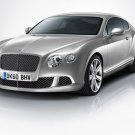 "Bentley Continental GT 2012 Car Poster Print on 10 mil Archival Satin Paper 20"" x 15"""