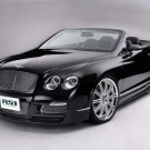 "Bentley ASI Continental GTC Car Poster Print on 10 mil Archival Satin Paper 20"" x 15"""