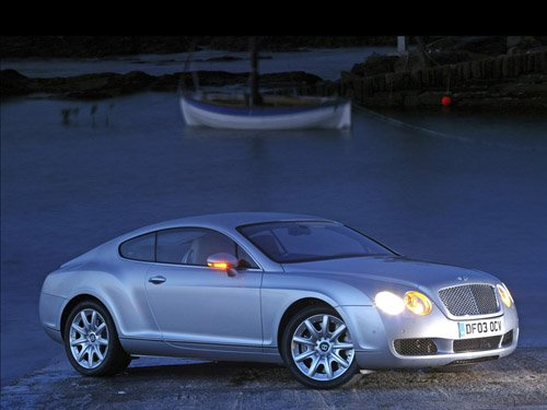 "Bentley Project Kahn Continental GT-S Car Poster Print on 10 mil Archival Satin Paper 16"" X 12"""