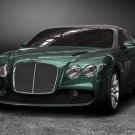 "Bentley GTZ Zagato Car Poster Print on 10 mil Archival Satin Paper 16"" X 12"""