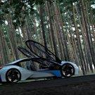 "BMW EfficientDynamics Concept Car Poster Print on 10 mil Archival Satin Paper 16"" x 12"""