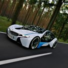"BMW EfficientDynamics Concept Car Poster Print on 10 mil Archival Satin Paper 20"" x 15"""