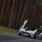 "BMW EfficientDynamics Concept Car Poster Print on 10 mil Archival Satin Paper 20"" x 15"""