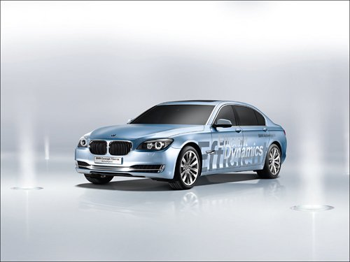 "2008 BMW 7-Series ActiveHybrid Concept Car Poster Print 16"" x 12"""