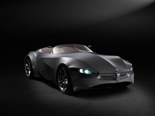 "BMW GINA Light Visionary Model Concept Car Poster Print 16"" x 12"""