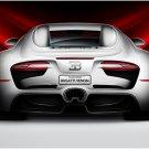"Bugatti Venom Concept Car Poster Print on 10 mil Archival Satin Paper 16"" x 12"""