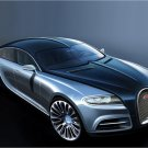 "Bugatti 16 C Galibier Concept Car Poster Print on 10 mil Archival Satin Paper 16"" x 12"""