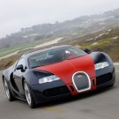 "Bugatti Veyron Fbg par Hermes Car Poster Print on 10 mil Archival Satin Paper 16"" x 12"""