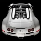 "Bugatti Veyron Grand Sport Car Poster Print on 10 mil Archival Satin Paper 16"" x 12"""