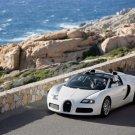 "Bugatti Veyron Grand Sport Production Car Poster Print on 10 mil Archival Satin Paper 20"" x 15"""