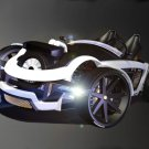 "Burton Elementz Concept Car Poster Print on 10 mil Archival Satin Paper 16"" x 12"""