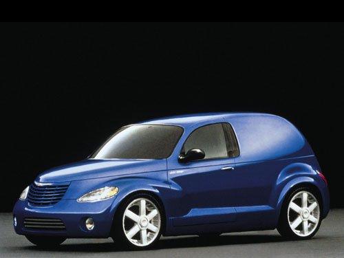 """Chrysler Panel Cruiser Car Poster Print on 10 mil Archival Satin Paper 16"""" x 12"""""""