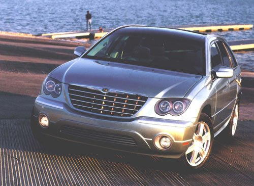 "Chrysler Pacifica Car Poster Print on 10 mil Archival Satin Paper 16"" x 12"""