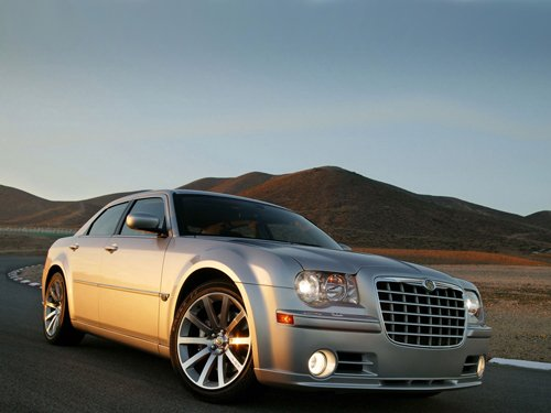 "Chrysler 300C SRT8 Car Poster Print on 10 mil Archival Satin Paper 16"" x 12"""