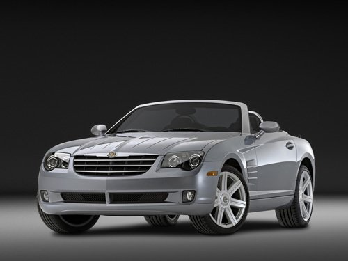 "Chrysler CrossFire Roadster Car Poster Print on 10 mil Archival Satin Paper 16"" x 12"""