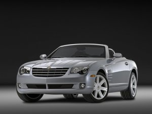 "Chrysler CrossFire Roadster Car Poster Print on 10 mil Archival Satin Paper 16"" x 12"""