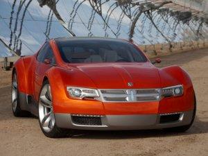 "Dodge Zeo Concept Car Poster Print on 10 mil Archival Satin Paper 16"" x 12"""