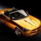 "Dodge Demon Roadster Car Poster Print on 10 mil Archival Satin Paper 16"" x 12"""