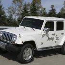"Jeep EV Electric Car Poster Print on 10 mil Archival Satin Paper 16"" x 12"""