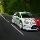 "Citroen C4 WRC HYmotion4 Concept Poster Print on 10 mil Archival Satin Paper 16"" x 12"""