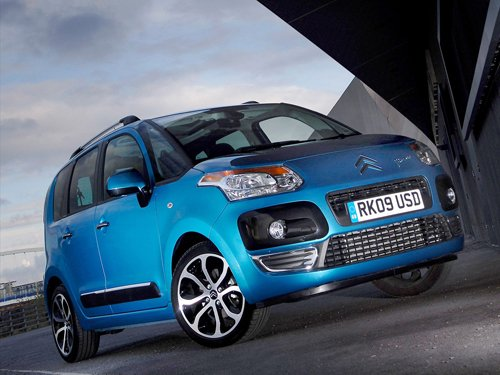 "Citroen C3 Picasso Car Poster Print on 10 mil Archival Satin Paper 16"" x 12"""