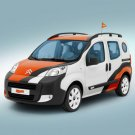 "Citroen Nemo Concetto Car Poster Print on 10 mil Archival Satin Paper 16"" x 12"""