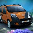 "Citroen Nemo Concetto Car Poster Print on 10 mil Archival Satin Paper 16"" x 12"""