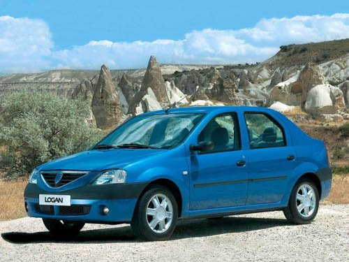 "Dacia Logan 1.4 MPI Car Poster Print on 10 mil Archival Satin Paper 16"" x 12"""