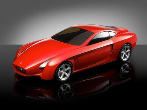 "Ferrari Trediviso TCA Car Poster Print on 10 mil Archival Satin Paper 16"" x 12"""