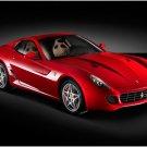 "Ferrari 599 GTB Fiorano Car Poster Print on 10 mil Archival Satin Paper 20"" x 15"""