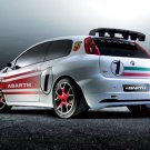 "Fiat Abarth Grande Punto S2000 Car Poster Print on 10 mil Archival Satin Paper 16"" x 12"""