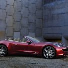 "Fisker Karma Production Car Poster Print on 10 mil Archival Satin Paper 16"" x 12"""