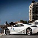 """GTA Spano Car Poster Print on 10 mil Archival Satin Paper 16"""" x 12"""""""