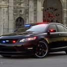 "Ford Stealth Police Interceptor Concept Car Poster Print on 10 mil Archival Satin Paper 16"" x 12"""