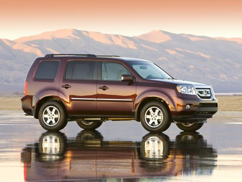 "Honda Pilot Car Poster Print on 10 mil Archival Satin Paper 16"" x 12"""