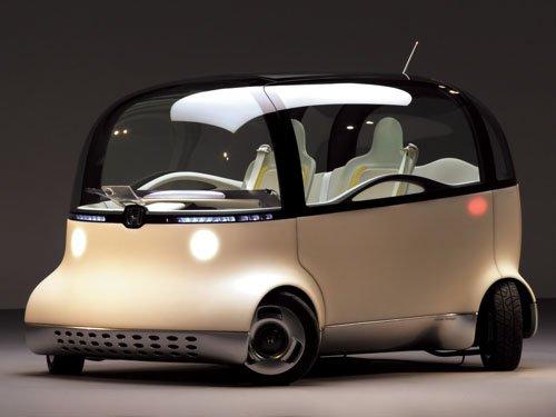 "Honda PUYO Concept Car Poster Print on 10 mil Archival Satin Paper 16"" x 12"""