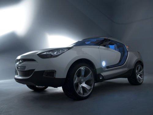 "Hyundai QarmaQ Concept Car Poster Print on 10 mil Archival Satin Paper 16"" x 12"""