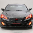 "Hyundai Street Concepts Genesis Coupe Car Poster Print on 10 mil Archival Satin Paper 16"" x 12"""
