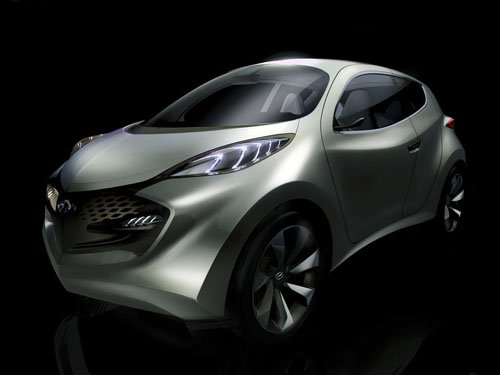 "Hyundai ix-Metro Concept Car Poster Print on 10 mil Archival Satin Paper 16"" x 12"""