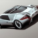 "I2B Reus Concept Car Poster Print on 10 mil Archival Satin Paper 16"" x 12"""