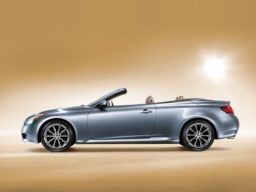 "Infiniti G37 Convertible Car Poster Print on 10 mil Archival Satin Paper 16"" x 12"""