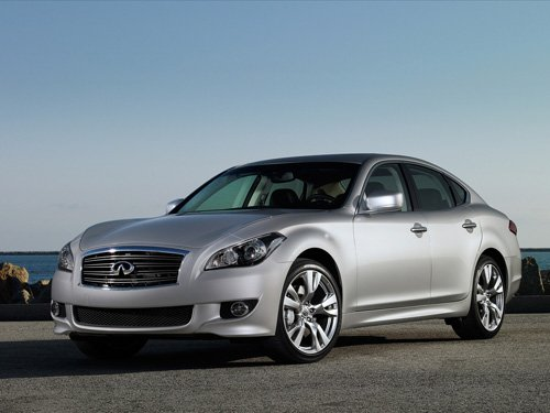 "Infiniti M 2011 Car Poster Print on 10 mil Archival Satin Paper 16"" x 12"""