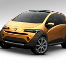 """Italdesign Emas Country (2010) Concept Car Poster Print on 10 mil Archival Satin Paper 16"""" x 12"""""""