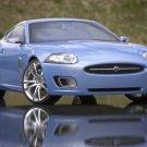 "Jaguar Advanced Lightweight Coupe Car Poster Print on 10 mil Archival Satin Paper 16"" x 12"""