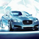 "Jaguar C-XF Concept Car Poster Print on 10 mil Archival Satin Paper 16"" x 12"""
