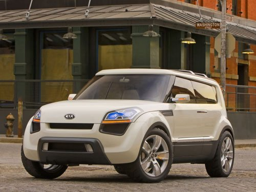 "Kia Soul Concept Car Poster Print on 10 mil Archival Satin Paper 16"" x 12"""
