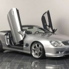 "Kleeman Mercedes SL 50K S8 Car Poster Print on 10 mil Archival Satin Paper 16"" x 12"""