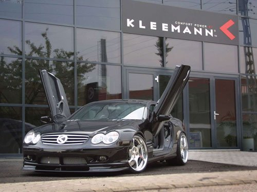 "Kleeman Mercedes SL Xtreme Car Poster Print on 10 mil Archival Satin Paper 16"" x 12"""