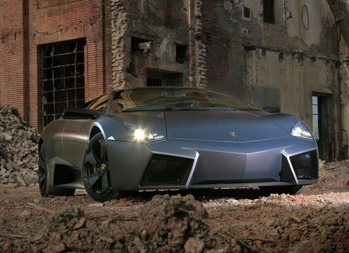 """Lamborghini Reventon Car Poster Print on 10 mil Archival Satin Paper 16"""" x 12"""""""